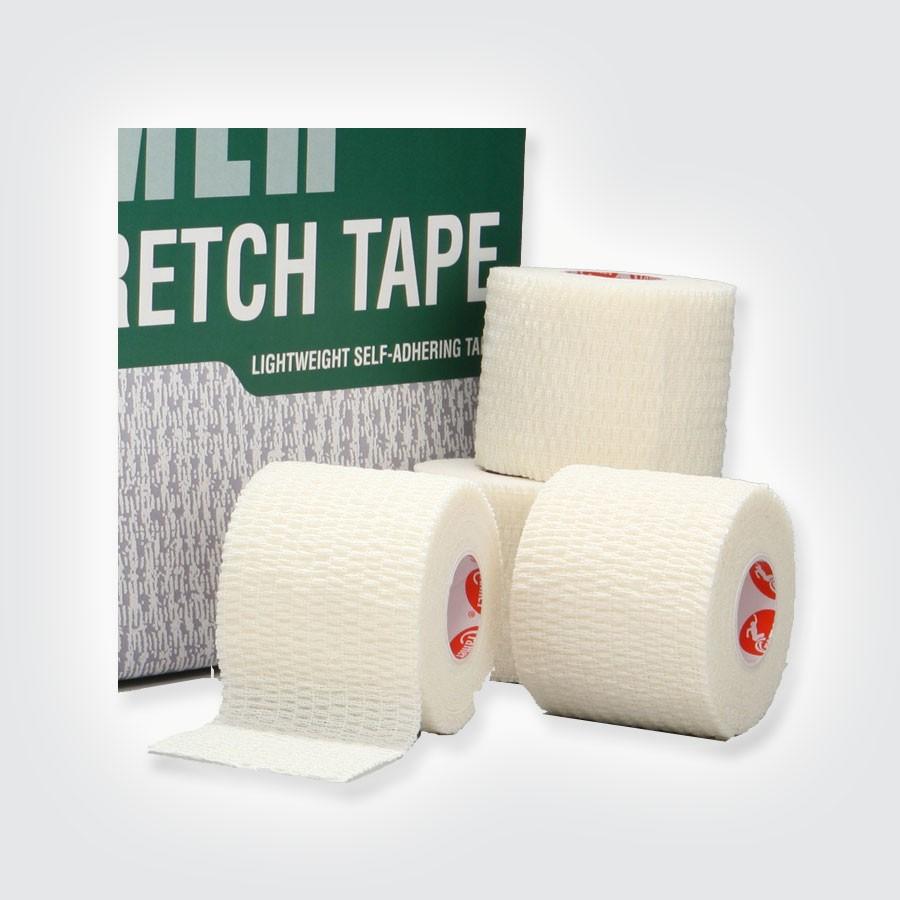 Растягивающийся тейп Cramer Eco-Flex Stretch Tape, 16 шт белыйЭластичный легкоразрываемый тейп без клеевой основы.<br>