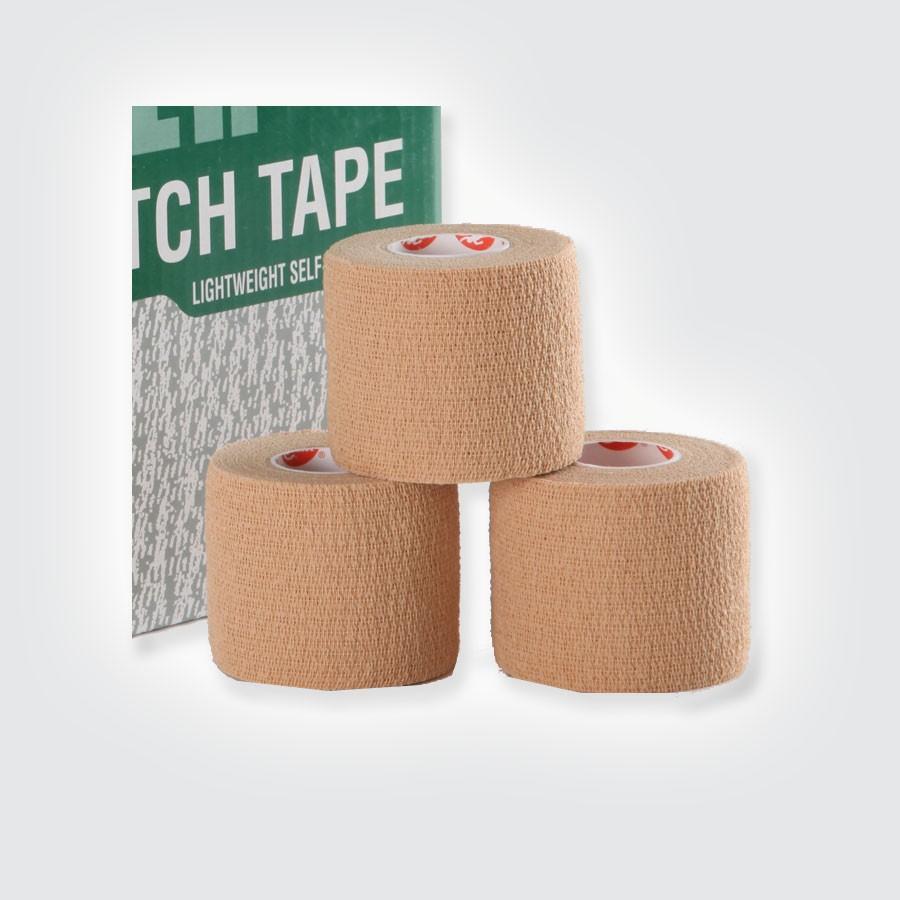 Растягивающийся тейп Cramer Eco-Flex Stretch Tape, 24 шт бежевыйЭластичный легкоразрываемый тейп без клеевой основы.<br>