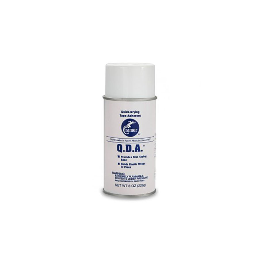 Спрей для фиксации тейпа Cramer Quick-Drying Tape AdherentСпрей для удаления кинезио тейпа Спрей Cramer Quick-Drying Tape Adherent (Q.D.A.).<br>