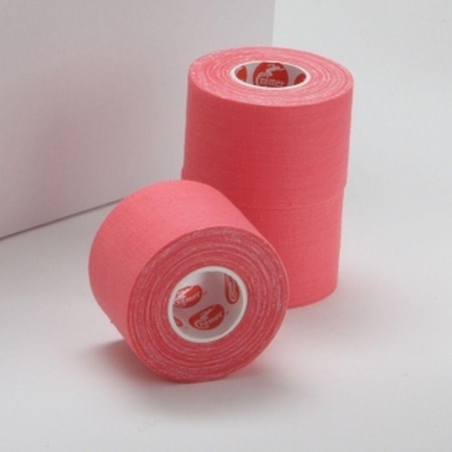 Спортивный тейп Cramer Team Colors Tape, цветной, 32 шт розовый100% хлопковый тейп, не содержит латекса, содержит оксид цинка для улучшенной поддержки и комфорта при использовании.<br>