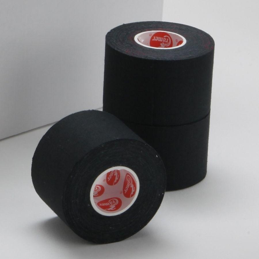 Спортивный тейп Cramer Team Colors Tape, цветной, 32 шт черный100% хлопковый тейп, не содержит латекса, содержит оксид цинка для улучшенной поддержки и комфорта при использовании.<br>