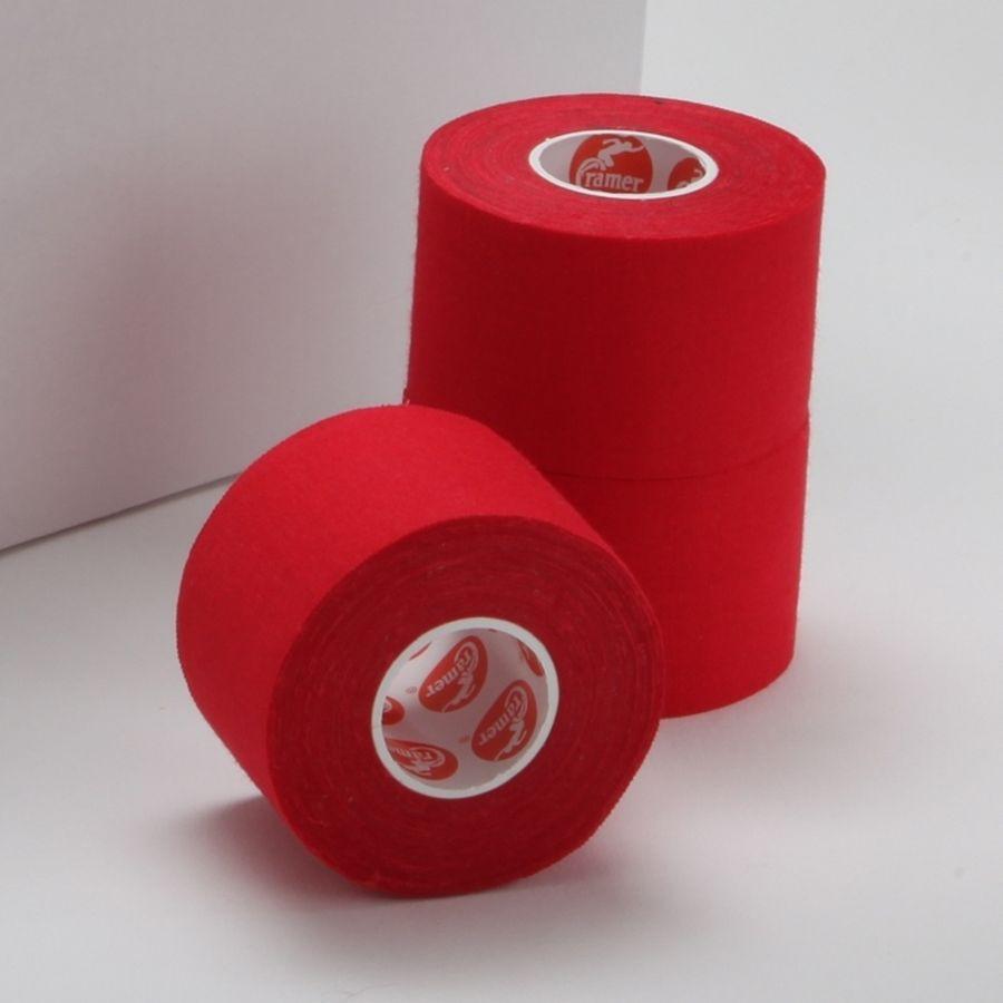 Спортивный тейп Cramer Team Colors Tape, цветной, 32 шт красный100% хлопковый тейп, не содержит латекса, содержит оксид цинка для улучшенной поддержки и комфорта при использовании.<br>