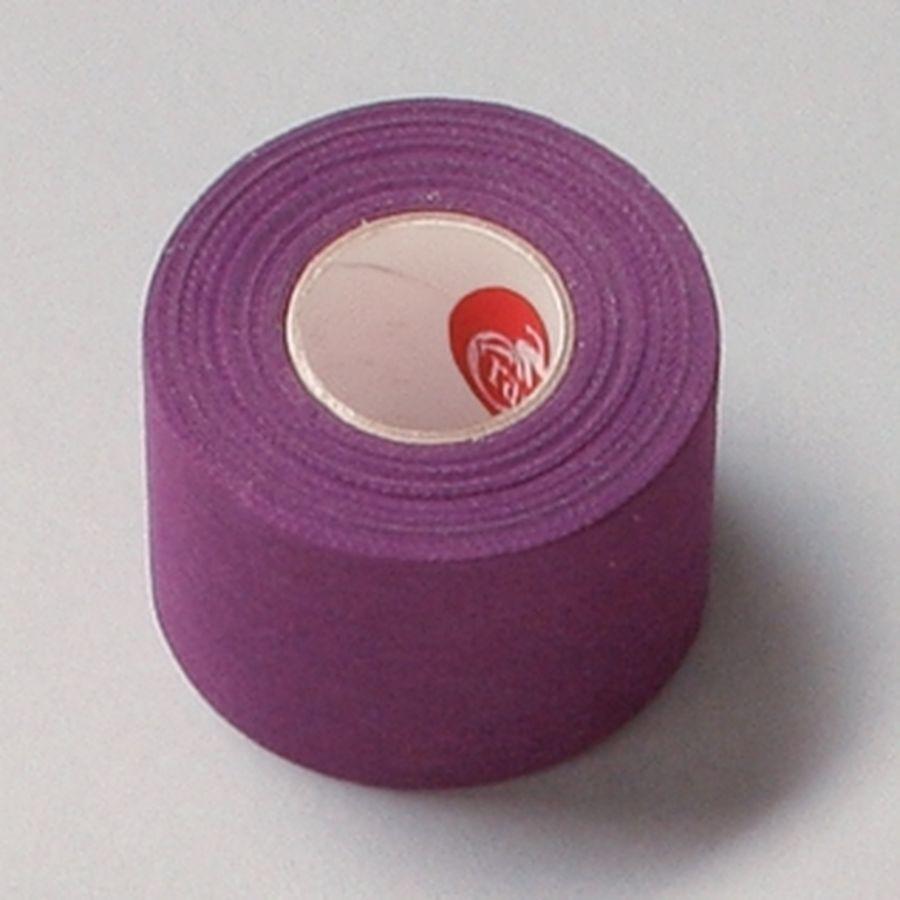 Спортивный тейп Cramer Team Colors Tape, цветной, 32 шт фиолетовый100% хлопковый тейп, не содержит латекса, содержит оксид цинка для улучшенной поддержки и комфорта при использовании.<br>