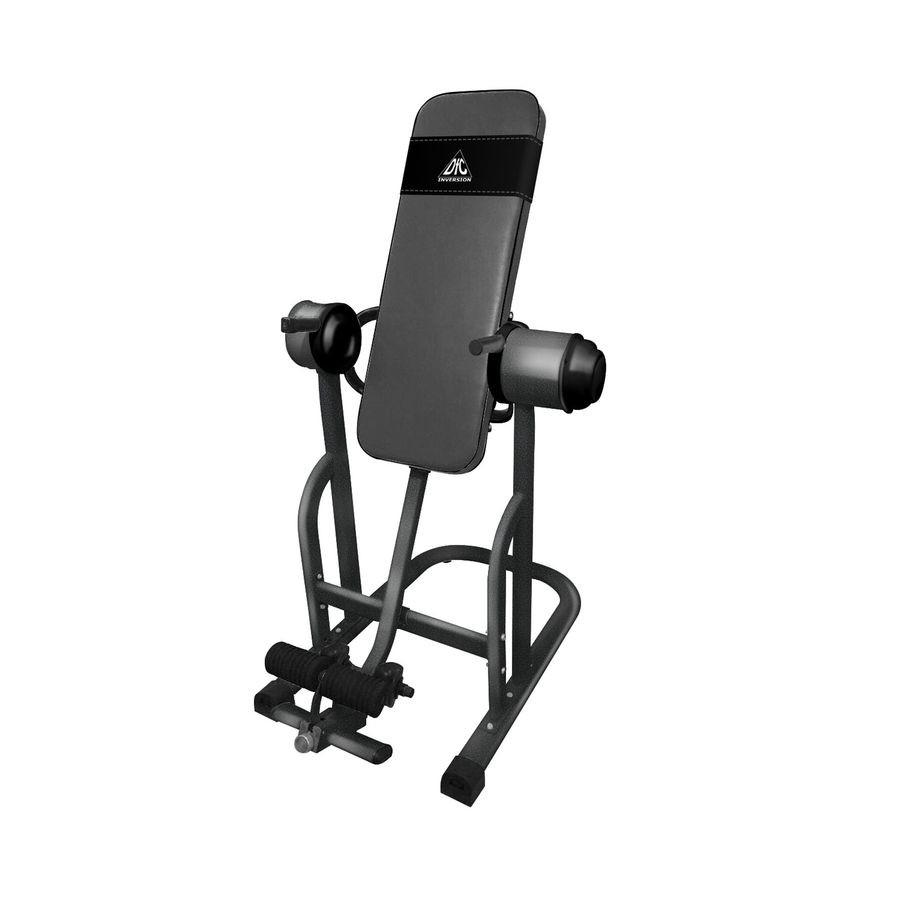 Инверсионный стол DFC L001Инверсионный стол DFC L001 &amp;ndash; это устройство, которое поможет вам улучшить осанку, избавиться от болей в спине, улучшит общи тонус организма, снимет стресс, избавит от болей в ногах, обеспечит приток крови в головной мозг.<br>