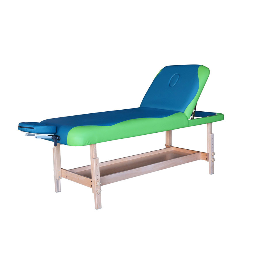 Массажный стол DFC NIRVANA SUPERIOR TS200Компания DFC, известная отличным качеством своей продукции, представляет новую модель массажного стола - стационарный стол SUPERIOR, отличающуюся непревзойденной эргономичностью, комфортностью и стильным внешним видом.&amp;nbsp;&#13;<br>&#13;<br>Стационарный массажный стол SUPERIOR изготовлен из высококачественных компонентов. Идеально подходит для домашней эксплуатации.<br>
