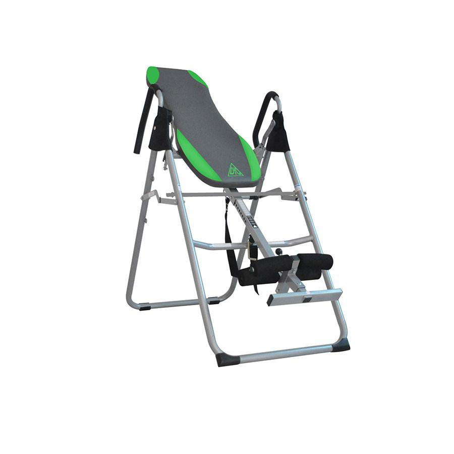Инверсионный стол DFC SJ6200Складная модель инверсионного стола с&amp;nbsp;продуманной&amp;nbsp;конструкцией и прочным материалом рамы позволяет не переживать за свое здоровье.&amp;nbsp;Мягкая спинка обеспечит комфорт во время тренировки.<br>
