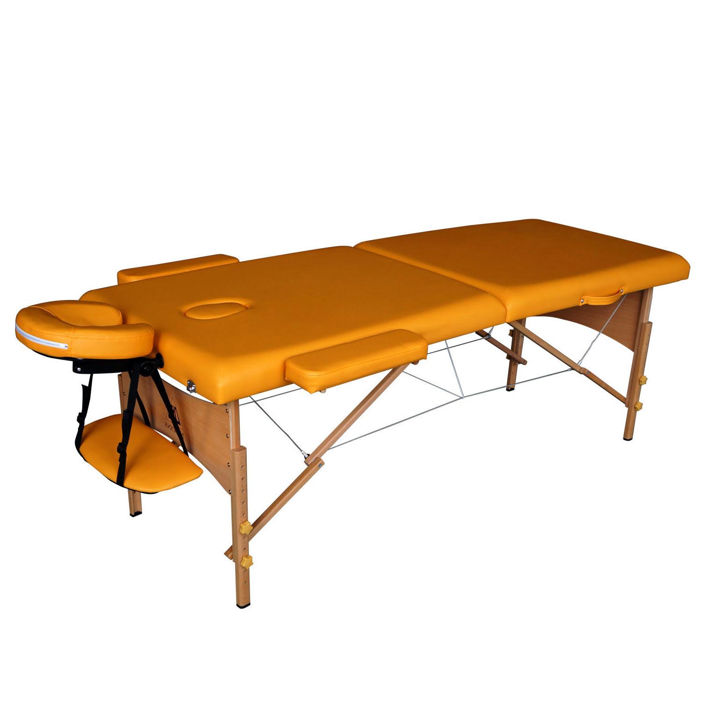 Массажный стол DFC NIRVANA Relax оранжевыйСкладной 2-х секционный переносной массажный стол DFC NIRVANA Relax. Изготовлен из высококачественных компонентов. Идеально подходит для домашней эксплуатации.<br>