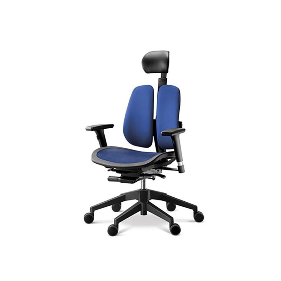 Офисное кресло Duprest Alpha A60H синийОфисные кресла серии ALPHA являются одной из новейших разработок фабрики ДУОРЕСТ.&amp;nbsp;В конструкции сиденья кресла DUOREST ALPHA A60H используется технология Alpha Mesh Seats с сидением-сеткой.&amp;nbsp;Конструкция позволяет добиться максимально точной посадки, которая улучшает циркуляцию крови и вызывает сбалансированный теплообмен, что снижает потоотделение, особенно при высокой температуре окружающей среды.<br>