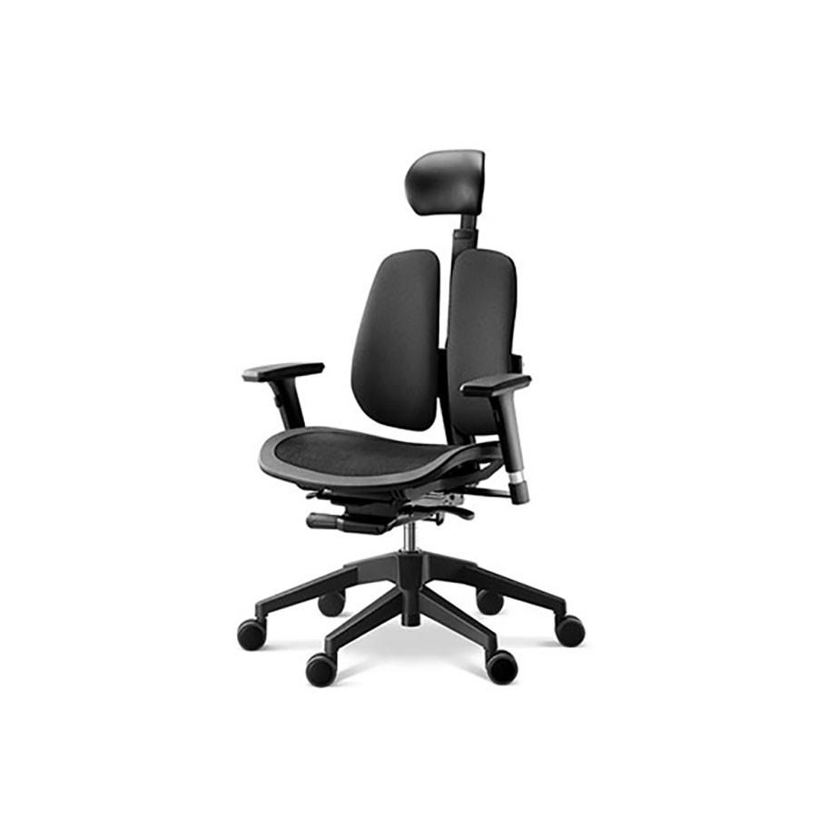 Офисное кресло Duprest Alpha A60H черныйОфисные кресла серии ALPHA являются одной из новейших разработок фабрики ДУОРЕСТ.&amp;nbsp;В конструкции сиденья кресла DUOREST ALPHA A60H используется технология Alpha Mesh Seats с сидением-сеткой.&amp;nbsp;Конструкция позволяет добиться максимально точной посадки, которая улучшает циркуляцию крови и вызывает сбалансированный теплообмен, что снижает потоотделение, особенно при высокой температуре окружающей среды.<br>