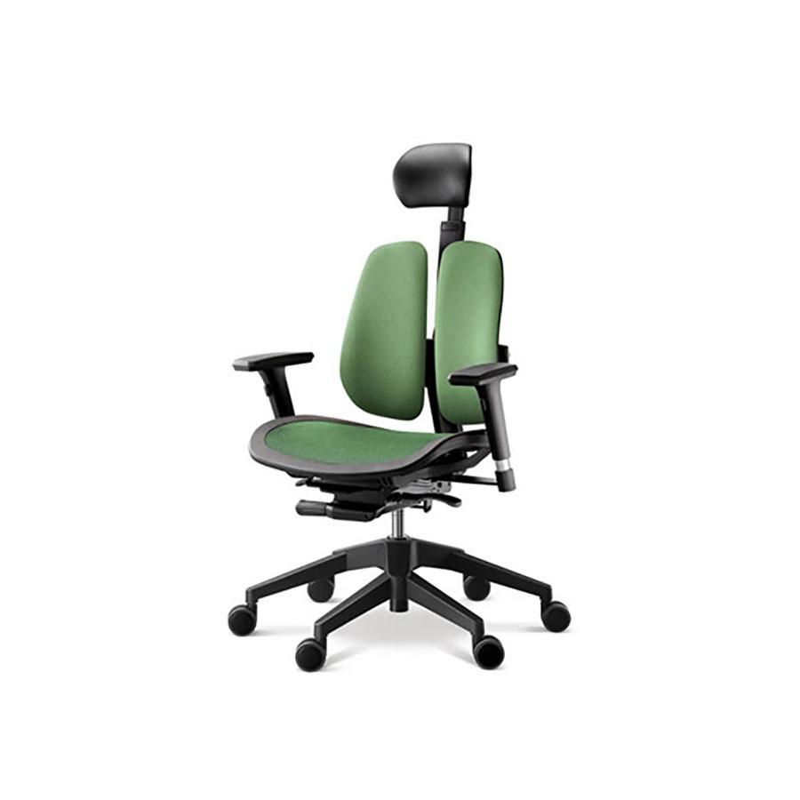 Офисное кресло Duprest Alpha A60H зеленыйОфисные кресла серии ALPHA являются одной из новейших разработок фабрики ДУОРЕСТ.&amp;nbsp;В конструкции сиденья кресла DUOREST ALPHA A60H используется технология Alpha Mesh Seats с сидением-сеткой.&amp;nbsp;Конструкция позволяет добиться максимально точной посадки, которая улучшает циркуляцию крови и вызывает сбалансированный теплообмен, что снижает потоотделение, особенно при высокой температуре окружающей среды.<br>