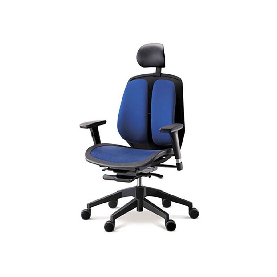 Офисное кресло Duprest Alpha A80H синийВ конструкции сидений данного кресла используется технология Alpha Mesh Seats с сидением-сеткой.&amp;nbsp;Конструкция позволяет добиться максимально точной посадки, которая улучшает циркуляцию крови и вызывает сбалансированный теплообмен, что снижает потоотделение, особенно при высокой температуре окружающей среды.<br>