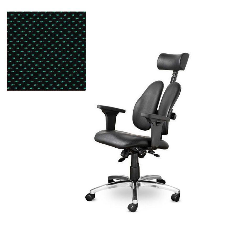 Офисное кресло Duprest Leaders DD-7500G ткань зеленаяСерия кресел DUOREST LEADERS, вобрав в себя многолетний опыт создателей, предлагает за разумную цену высокое качество, гарантированное торговой маркой, и оптимальный набор функций.&amp;nbsp;Сдержанный дизайн, традиционное эргономическое строение и отточенная система настройки сочетаются с прочными комплектующими и надежной сборкой.<br>