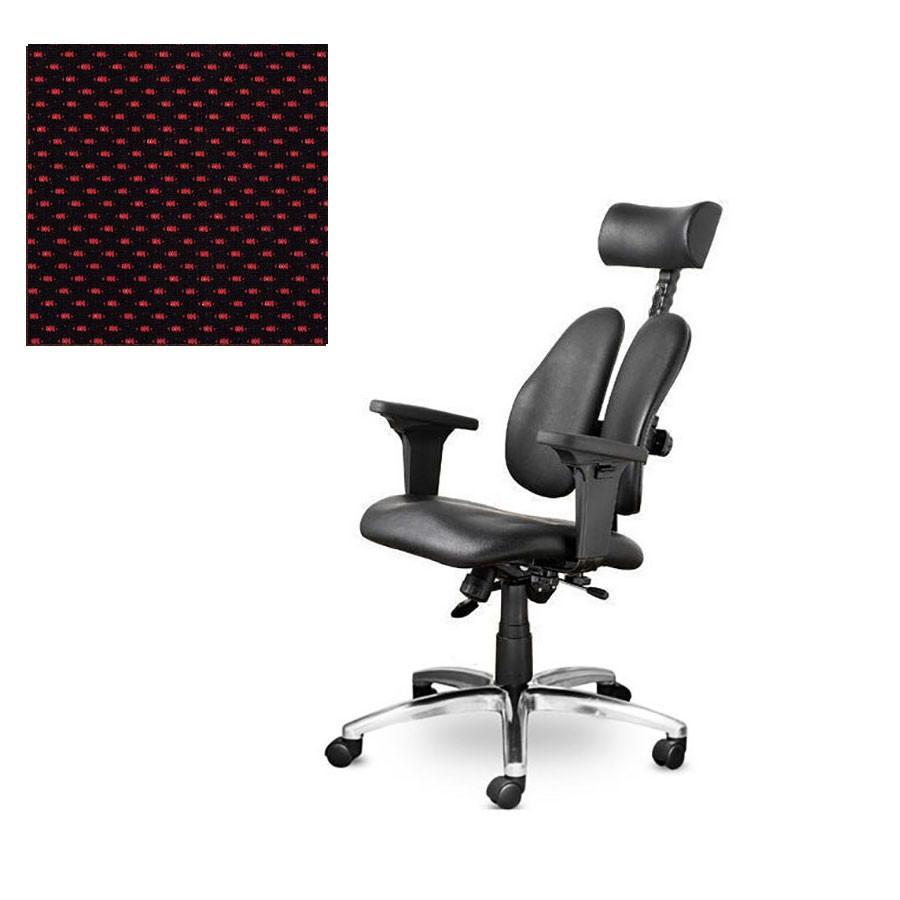 Офисное кресло Duorest Leaders DD-7500G ткань краснаяСерия кресел DUOREST LEADERS, вобрав в себя многолетний опыт создателей, предлагает за разумную цену высокое качество, гарантированное торговой маркой, и оптимальный набор функций.&amp;nbsp;Сдержанный дизайн, традиционное эргономическое строение и отточенная система настройки сочетаются с прочными комплектующими и надежной сборкой.<br>