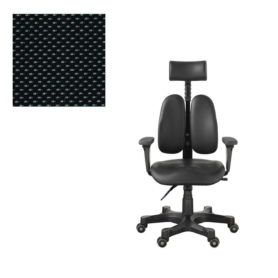 Офисное кресло Duprest Leaders DR-7500G ткань сераяНабор параметров ортопедического кресла для работы на компьютере DUOREST LEADERS DR-7500G характерен для других, более дорогих моделей. Уникальная система двойной спинки BACKREST позволяет отрегулировать кресло под спину не только по высоте, но и по ширине.<br>