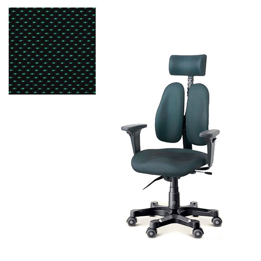 Офисное кресло Duprest Leaders DR-7500G ткань зеленаяНабор параметров ортопедического кресла для работы на компьютере DUOREST LEADERS DR-7500G характерен для других, более дорогих моделей. Уникальная система двойной спинки BACKREST позволяет отрегулировать кресло под спину не только по высоте, но и по ширине.<br>