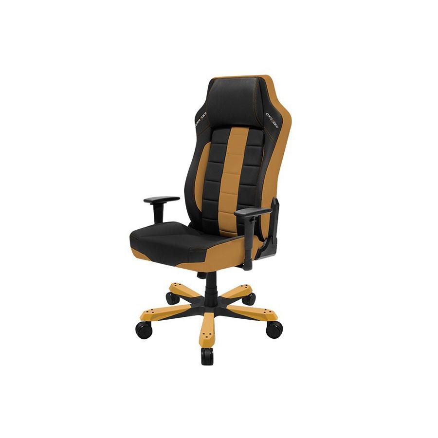 Компьютерное кресло DXRacer OH/BE120/NCЭргономичное офисное кресло с эксклюзивным дизайном, сочетающим заимствованный у гоночных автомобилей и классический стиль. Обеспечивает максимальный комфорт во время работы. Анатомические свойства кресла предотвращают излишнюю усталость и напряжение мышц при длительной работе за компьютером.<br>