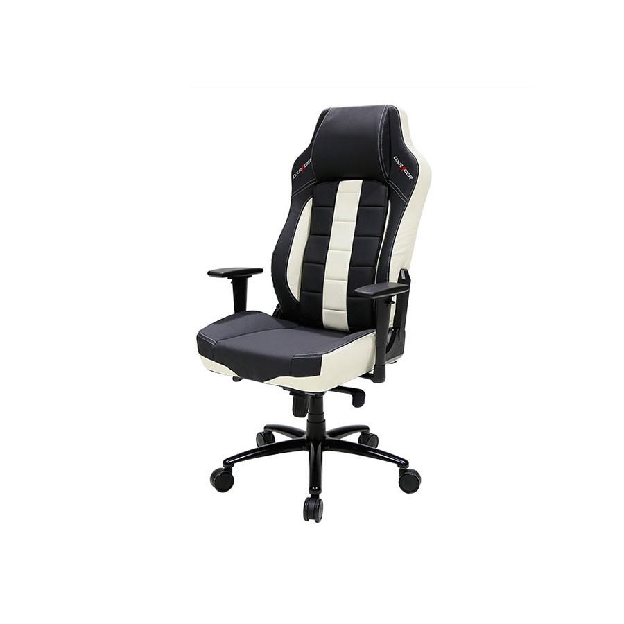 Компьютерное кресло DXRacer Classic OH/CBJ120/NWОригинальное компьютерное кресло, сочетающее в своем дизайне классический и спортивный стиль. Имеет все необходимые для длительного применения анатомические свойства.<br>
