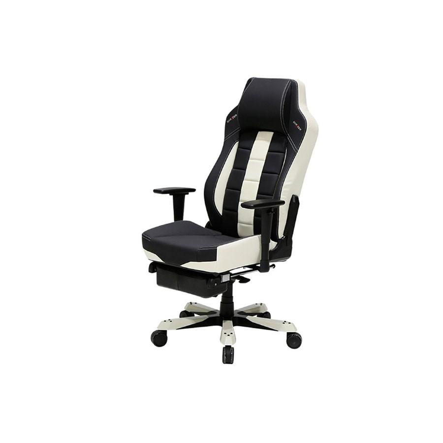 Компьютерное кресло DXRacer Classic OH/CBJ120/NW/FTОригинальное компьютерное кресло, сочетающее в своем дизайне классический и спортивный стиль. Имеет все необходимые для длительного применения анатомические свойства.<br>