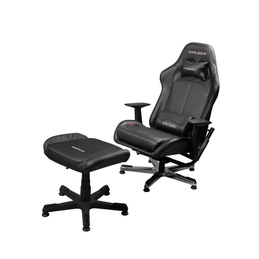 Консольное кресло DXRacer Console FS/KC57/N/SUITСовременное кресло, выполненное в спортивном стиле. Его выбирают заядлые геймеры и киберспортсмены.<br>