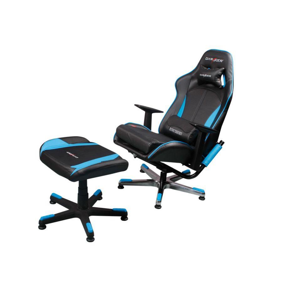 Консольное кресло DXRacer Console FS/KC57/NB/SUITСовременное кресло, выполненное в спортивном стиле. Его выбирают заядлые геймеры и киберспортсмены.<br>