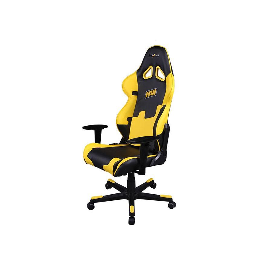 Компьютерное кресло DXRacer OH/RE21/NY/NAVIОригинальное компьютерное кресло с эмблемой известной спортивной команды NATUS VINCERE. Специально создано для любителей компьютерных игр.<br>