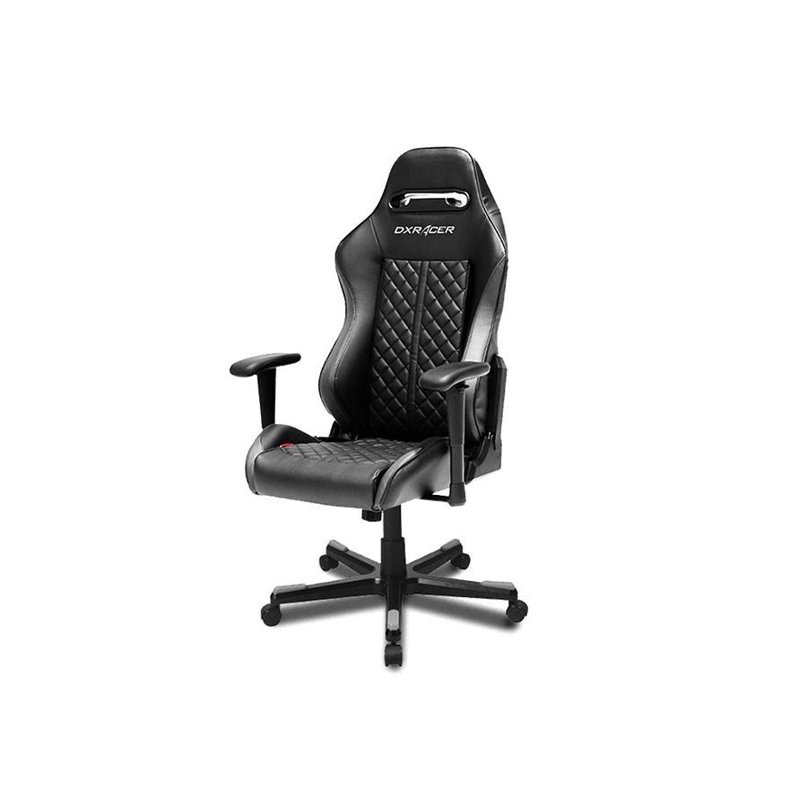 Компьютерное кресло DXRacer Drifting OH/DF73/NВ кресле сочетаются оригинальный дизайн и ортопедический эффект, что позволяет использовать его для длительного досуга или работы за компьютером.<br>