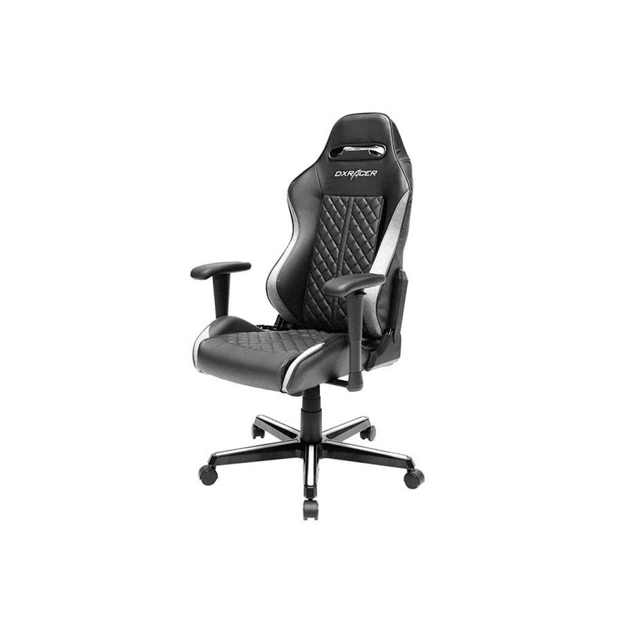 Компьютерное кресло DXRacer Drifting OH/DF73/NWВ кресле сочетаются оригинальный дизайн и ортопедический эффект, что позволяет использовать его для длительного досуга или работы за компьютером.<br>