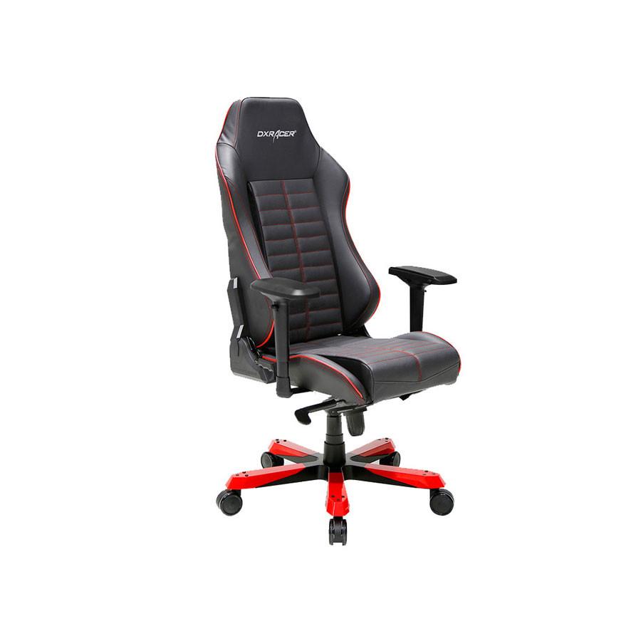 Кресло из натуральной перфорированной кожи DXRacer Iron OH/IS188/NRЗачастую, из-за неудобного положения спины во время продолжительной работы за компьютерным столом, могут образоваться серьезные проблемы. Чтобы избежать подобного, необходимо грамотно организовать личное рабочее место, а кресло DXRacer OH/IS188/N сможет помочь в этом. Благодаря ему можно обеспечить комфортом свою повседневную жизнь и чувствовать себя лучше.<br>