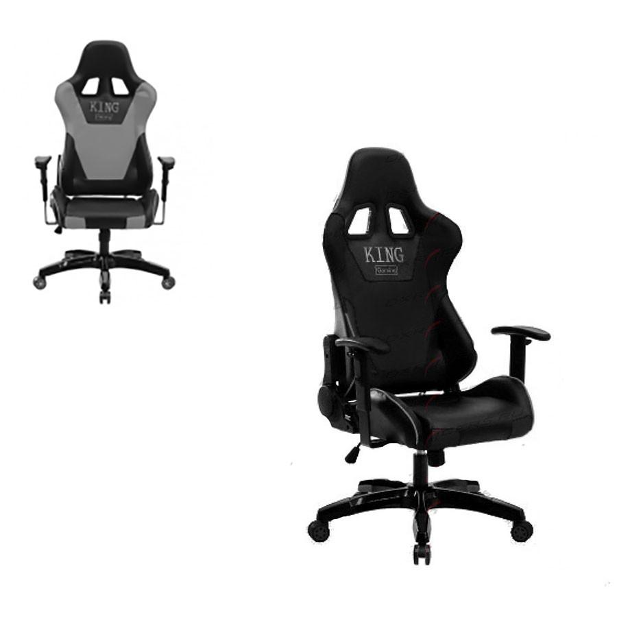 Компьютерное кресло King Gaming 600 Grey/KGСтильность и прочность великолепно сочетаются в поистине королевском компьютерном кресле King Gaming 600. Эргономичное, удобное и крепкое изделие способно удовлетворить различным предпочтениям пользователей и подстроиться под их физиологические особенности. С ним можно не только комфортно работать, но и отлично отдыхать в процессе работы.<br>