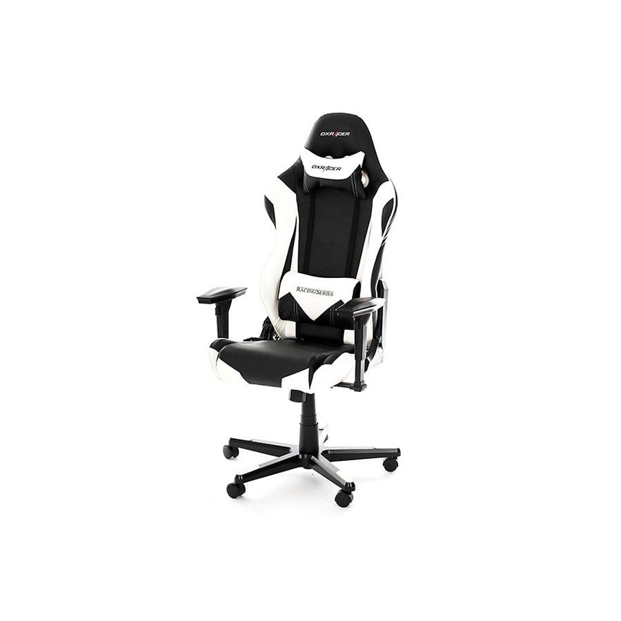 Компьютерное кресло Racing OH/RE0/NWКомпьютерное кресло DXRacer OH/RE0/NW из серии Racing &amp;ndash; образец гармонии минимализма и комфорта.<br>