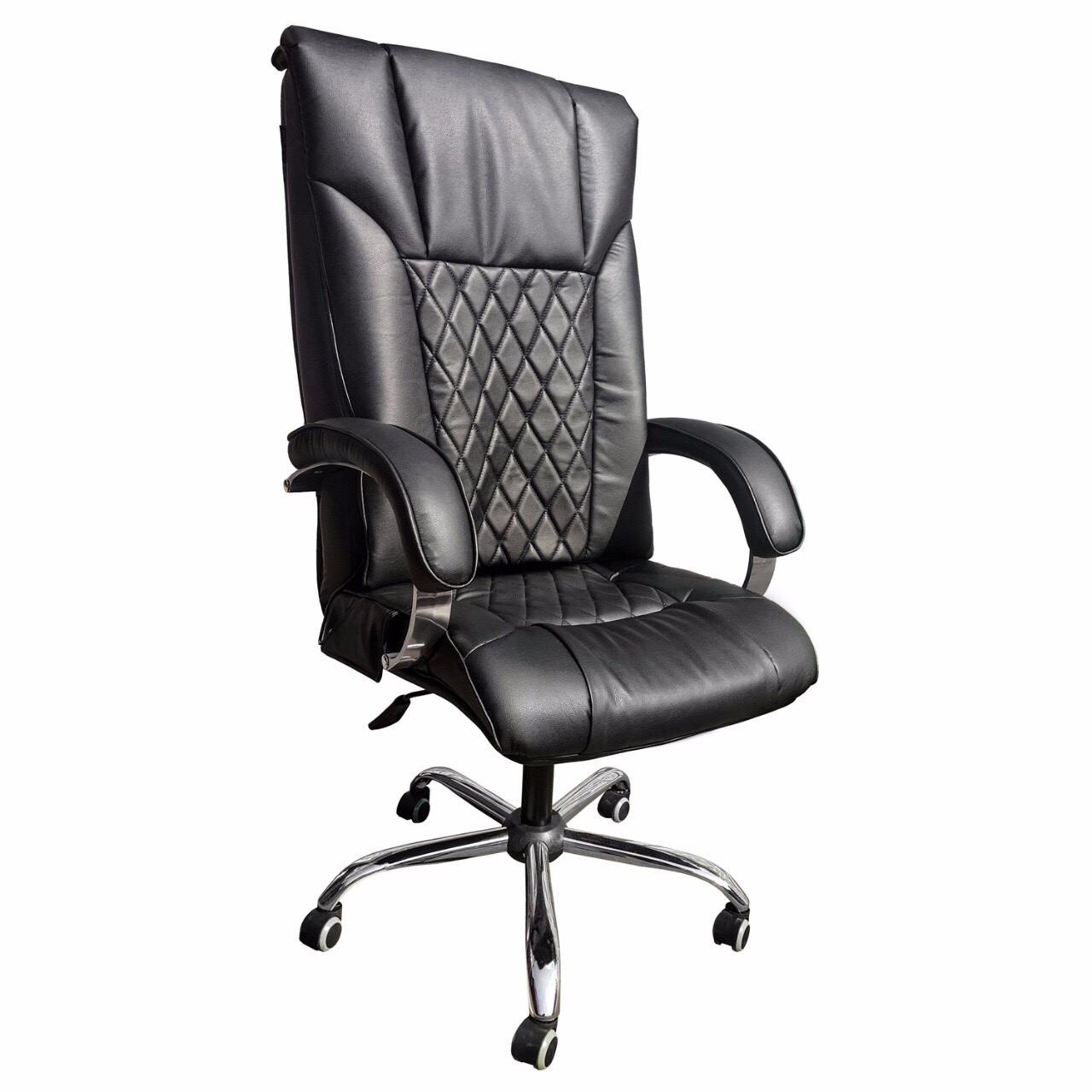 Офисное массажное кресло UK Domus EG-1002 LUX Standart - антрацит