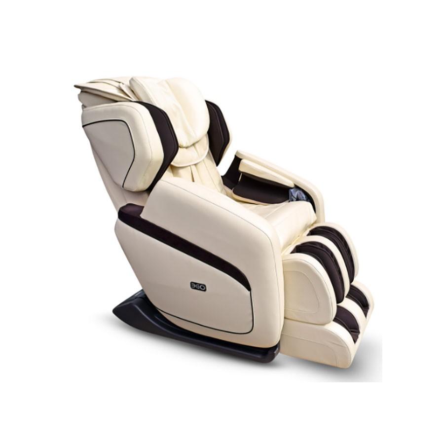 Массажное кресло EGO Cosmo EG8808 БежевыйМассажное кресло EGO COSMO гармонично сочетает в себе лучшие показатели кресел премиум-класса. L-образну траектори лаконично дополнет S-образна форма. Кресло рко выделетс среди аналогов. Оно оснащено функцими успокаиващего массажа икроножных мышц и нергичного Шиацу разминани стоп. EGO COSMO вклчает самые инновационные технологии массажа.<br>