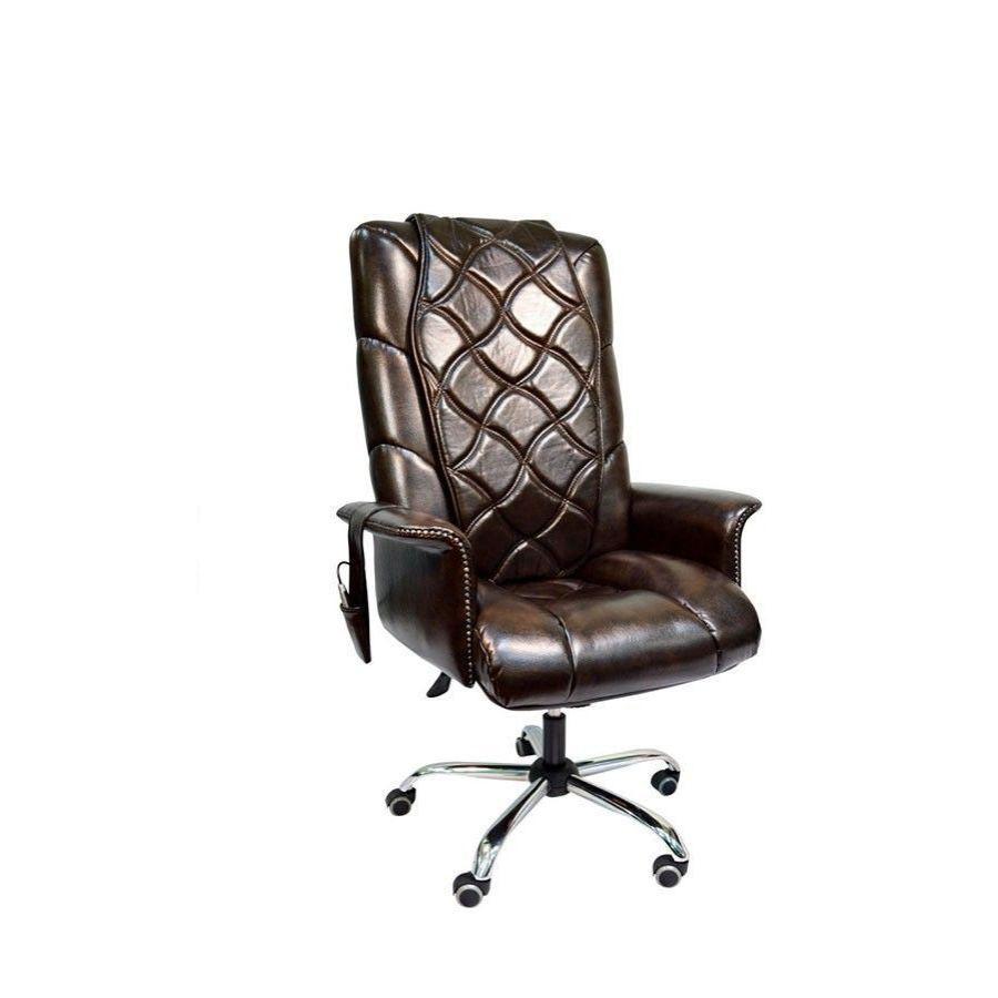 Офисное массажное кресло EGO PRIME EG-1003 Premium Exclusive (цвет на заказ)Новейшие технологии и эксклюзивный дизайн прекрасно сочетаются в офисном кресле EGO PRIME EG-1003 Premium Exclusive с функцией массажа, делая его не только незаменимым помощником, но и стильным украшением любого кабинета или офиса. Кресло выглядит статусным и дорогим, но стоит только откинуть накидку, как оно превратится в персонального массажиста.<br>