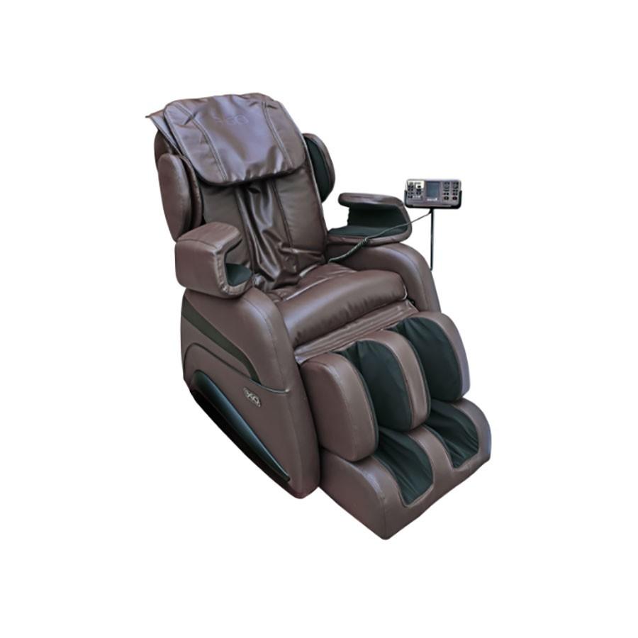 Массажное кресло EGO Tron EG8805 КоричневыйПроизводитель создал комфортабельное массажное кресло EGO Tron EG8805 специально для домашнего использования. Оно является одним из лидеров в своей области, благодаря применению современных оздоровительных технологий. В отличие от аналогичных моделей EGO TRON имеет широкий спектр функционала и методик воздействия на тело. Уникальной особенностью является последняя технология L траектории непрерывного роликового массажа.<br>