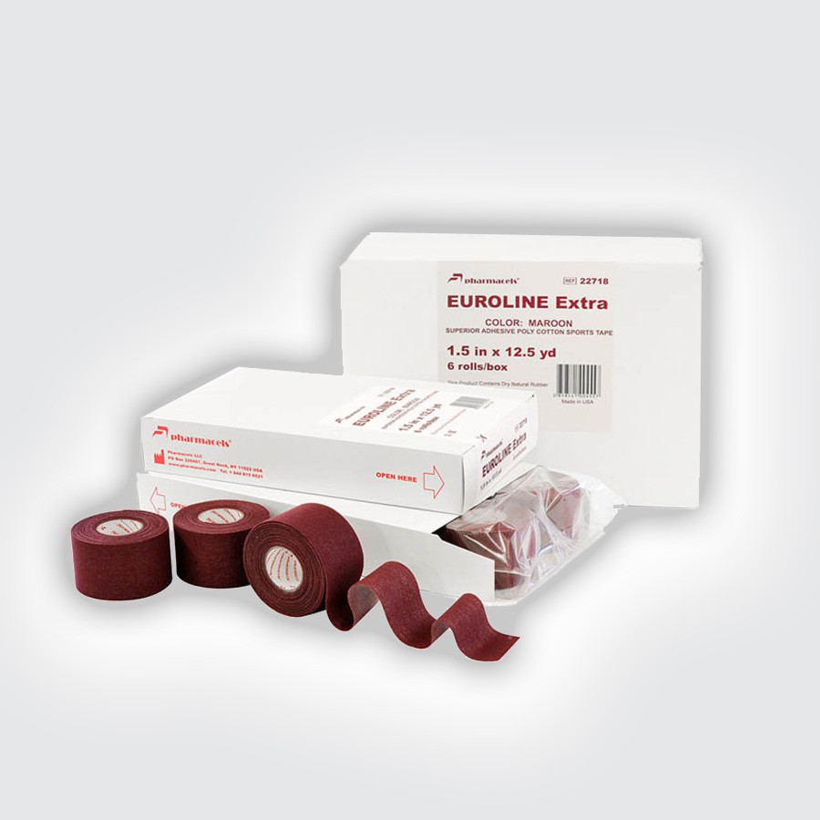 ���� Pharmacels EUROLINE Extra Tape maroon (6 �������) (Pharmacels Power-Q)