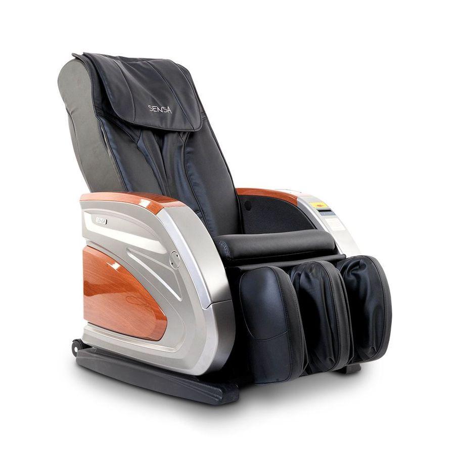 Массажное кресло Sensa Vending M02AВендинговое массажное кресло Sensa Vending предназначено дл коммерческого использовани в местах большой проходимости, например, в салонах красоты, торговых центрах, фитнес-клубах. Массажное кресло имеет встроенный в ручку кресла купроприемник - в остальном данна модель массажного кресла мало чем отличаетс от обычных массажных кресел дл дома. Оно также выполнет комбинированный роликовый и &amp;nbsp;воздушно - компрессионный массаж всего тела.<br>