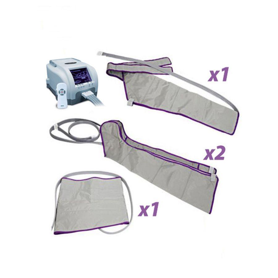 Аппарат прессотерапии Unix Air Relax Полный комплектВ этом году корейская компания MAXSTAR представила обновленный аппарат для прессотерапии Unix Air Relax, который стал более удобным и комфортным для домашнего использования. При этом аппарат имеет все функции лимфодренажной терапии и используется для улучшения общего кровотока в области нижних конечностей.<br>