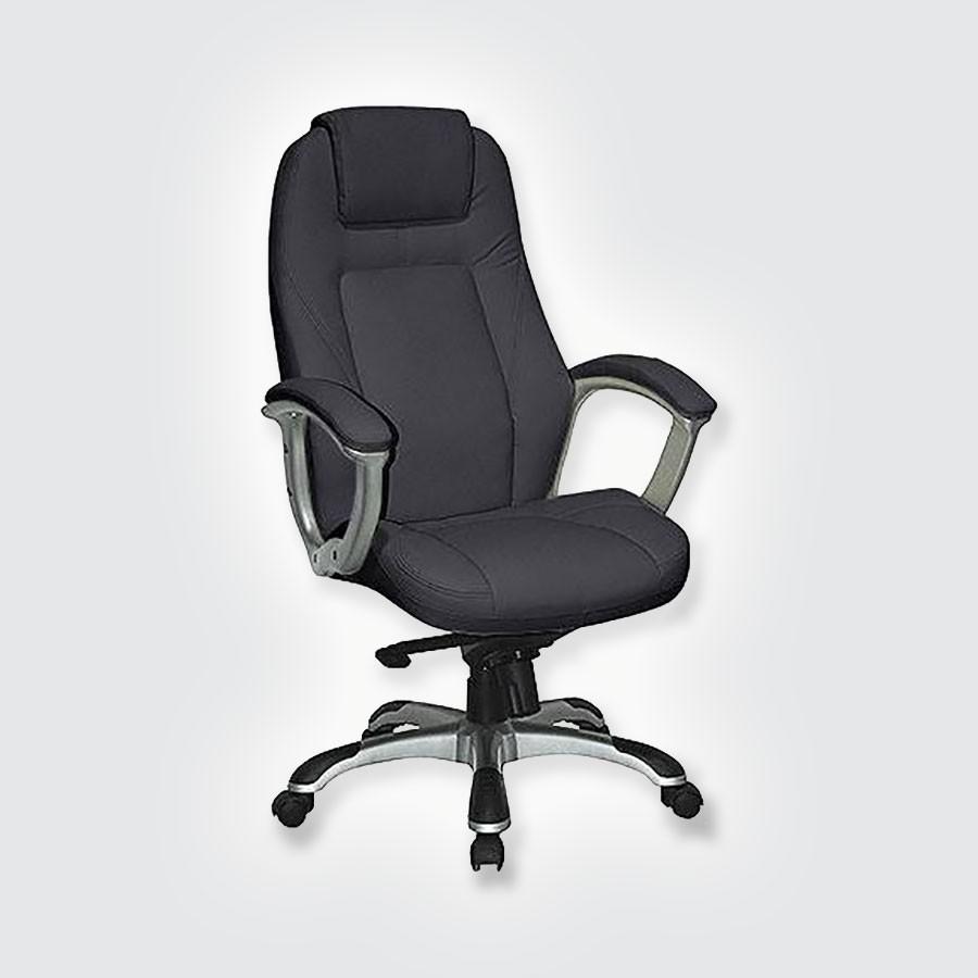 Кресло руководителя Good-Kresla Bruny blackВ дизайне кресла Bruny выдержан строгий баланс между яркими запоминающимися деталями и элегантностью формы. Оригинальные подлокотники прекрасно сочетаются с анатомической спинкой и массивным подголовником. Все месте эти детали не позволят спутать Bruny ни с одним креслом, представленным на рынке. &amp;nbsp;Дизайн офисного кресла очень функционален. Конструкция подголовника способствует полному расслаблению шеи во время отдыха.<br>
