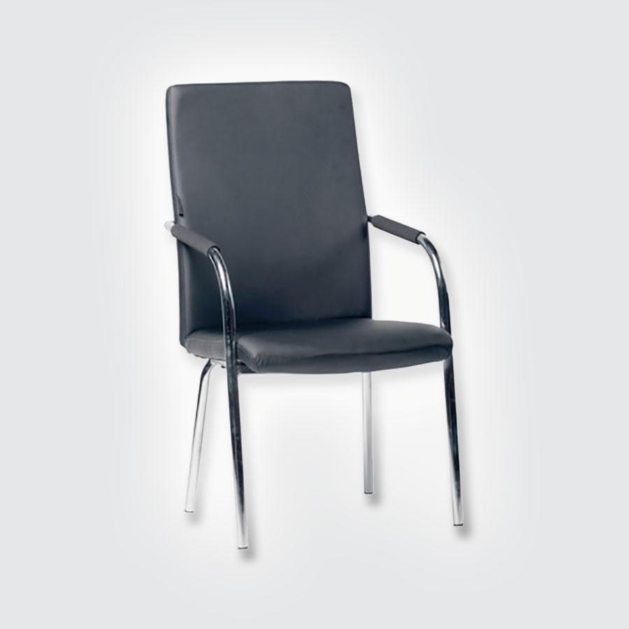 Кресло для посетителей Good-Kresla LokiВ обивке кресла Loki используется экокожа. Этот материал сохраняет отличный внешний вид в течение многих лет. Он отводит влагу и обеспечивает хорошую вентиляцию.Удобные мягкие полиуретановые подлокотники обеспечивают комфортную опору для рук и предохраняют от усталости во время длительных совещаний или конференций.<br>