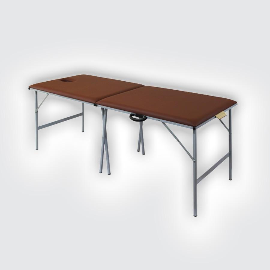 Складной массажный стол Heliox M195Складной массажный стол имеет прочную стальную раму и стандартную высоту 74 см, благодаря чему может использоваться для различных процедур. Увелченная длина ложа позволяет использвать стол с большим комфортом даже для пациентов высокого роста.<br>
