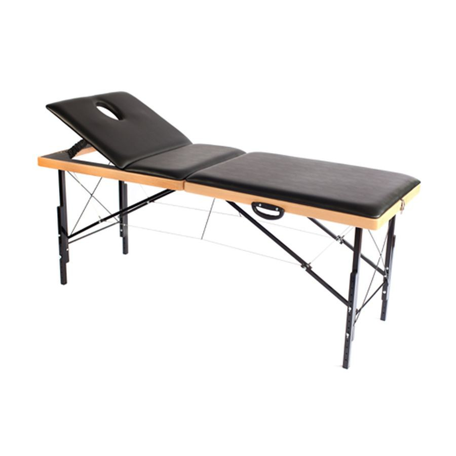 Складной массажный стол Heliox Престиж ПлюсСкладной массажный стол Престиж сочетает в себе изящный внешний вид и надежную конструкцию. Крепкий буковый каркас обеспечивает высокую прочность и одновременно является прекрасным обрамлением ложа стола. Алюминиевые ножки с полимерным покрытием и система стальных тросов значительно облегчают конструкцию и придают ей исключительную устойчивость. А поъем головной секции, добавляет удобства использования массажного стола.<br>
