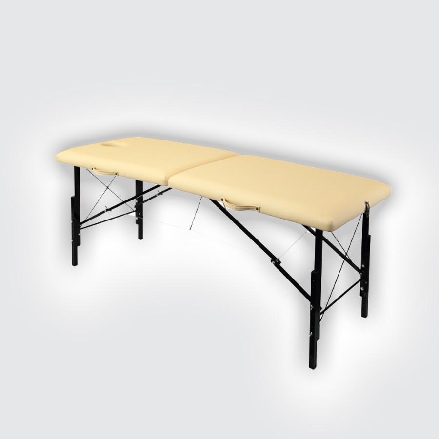 Складной массажный стол Heliox WHN190Это раскладной массажный стол с имеет прочную и лёгкую конструкцию пна базе каркаса из дерева и системы тросов. Для снижения веса ножки стола выполнены из легкого алюминиевого сплава. ИСоставняе ножки для возможности регулировки высоты.<br>