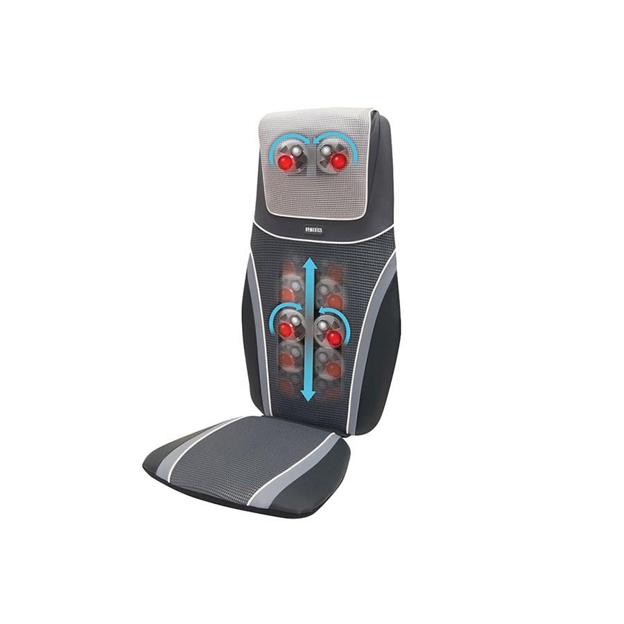 Массажна накидка HoMedics BMSC-6000H-EUМассажна накидка SHIATSU 3D с технологией SENSATOUCH, мгкий, но глубоко проминащий массаж. Накидка может быть установлена на стульх большинства типов и позволет наслаждатьс массажем во врем чтени, отдыха и даже работы. Работает от сети.<br>