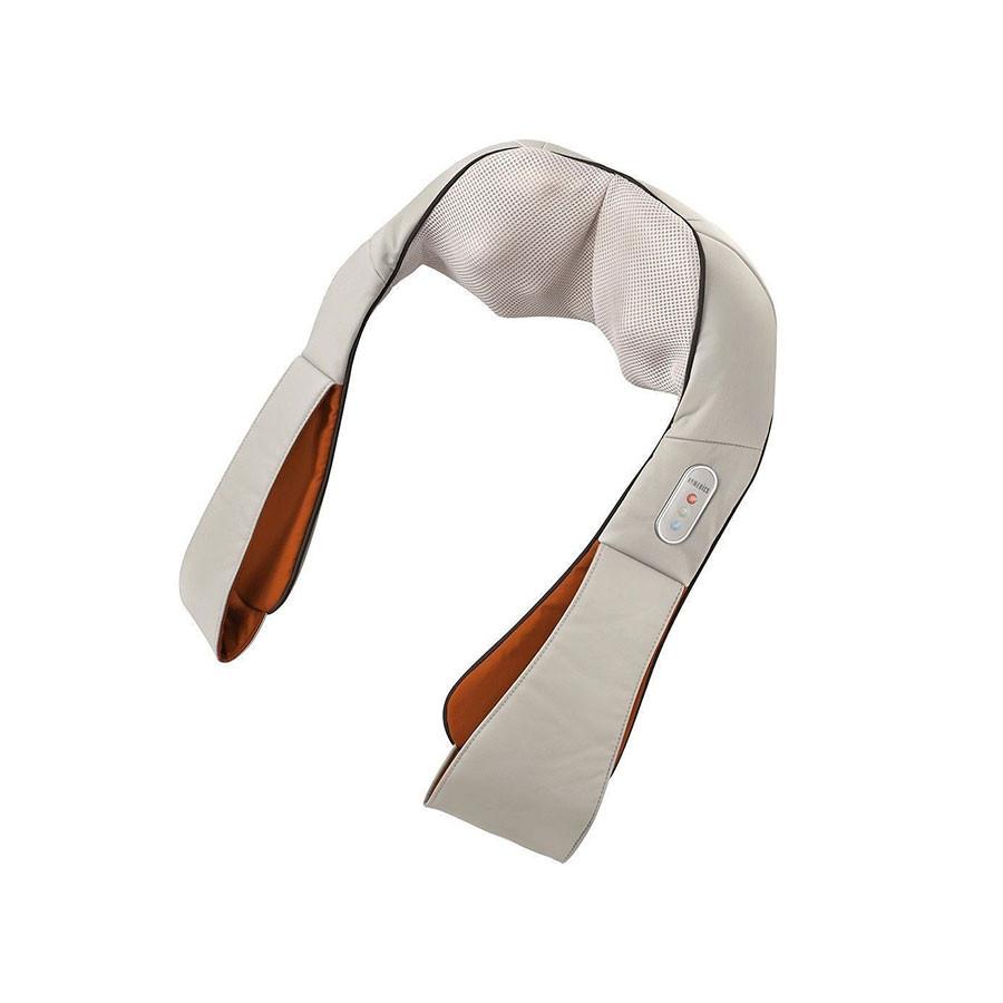 Массажер для шеи HoMedics NMS-620H-EUМассажеры<br>Массажер для шеи и других частей тела, который подходит для выполнения процедур в домашней обстановке. Его анатомическая форма точно повторяет движения настоящего массажиста. Процедуры, выполняемые посредством этого прибора, расслабляет мышцы, снимает напряжение. Специальная система, которая позволяет менять направление либо по часовой стрелке, либо против, как раз и предназначена для создания эффекта, напоминающего движения рук реального массажиста.<br>