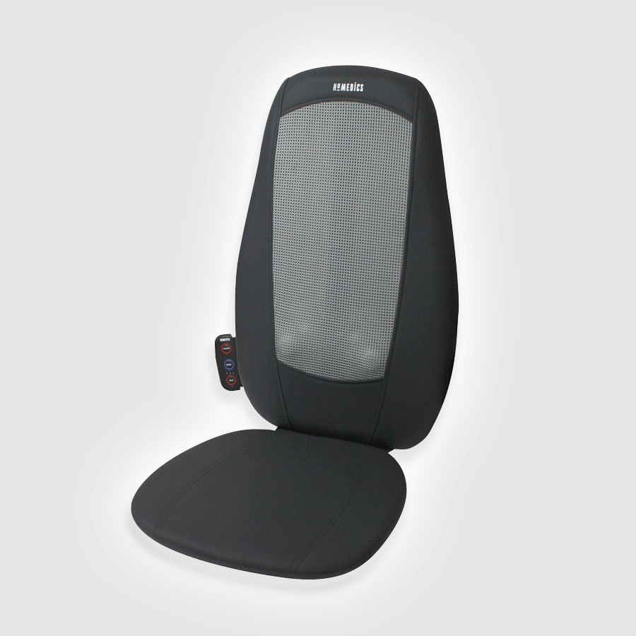 Массажная накидка HoMedics BMSC-1000H-EUИдеальный вариант для дома и офиса. Предназначена для массажа спины шиацу. Отличается компактностью, удобным управлением при помощи пульта ДУ (идет в комплекте), долговечным материалом чехла. Оснащена функцией подогрева &amp;mdash; для снятия усталости в мышцах.<br>