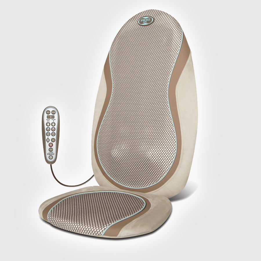 Массажная накидка HoMedics SGM-425H-EUHoMedics SGM-425H-EU - уникальная массажная накидка, созданная с применением специальных технологий для интенсивного массажа. Специальные гелевые ролики, одновременно мягкие и упругие, предназначены для массажа зон шеи, плечей, спины, поясничного отдела, а так же для точечного массажа. Устройством предусмотрено два вида массажа, роликовый и шиацу.<br>