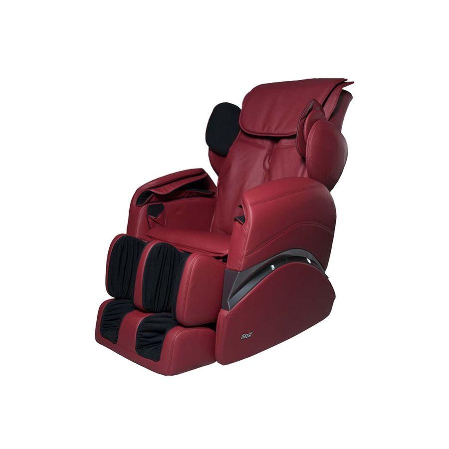 Массажное кресло iRest SL-A55-1 красныйМассажное кресло iRest SL-A55-1 представляет собой массажное устройство, которое быстро и эффективно позволяет снять напряжение и усталость в конце тяжелого трудового дня. Удивительно, но всего один 15-минутный сеанс использования данного массажного кресла заменяет поход к профессиональному массажисту.<br>