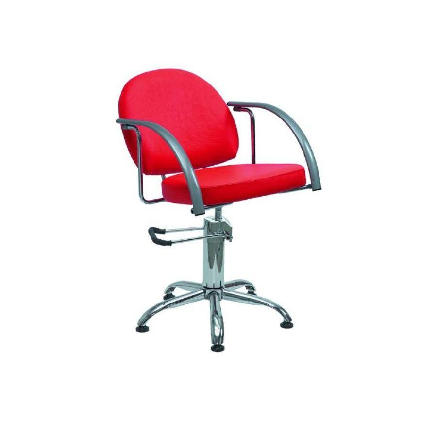 Кресло парикмахерское Имидж Мастер ГлориСтильное парикмахерское кресло ГЛОРИЯ необычной формы, которое идеально впишетс в интерьер парикмахерских и салонов красоты бизнес класса. &amp;nbsp;В том кресле ваш клиент будет чувствовать себ максимально комфортно на протжении выполнени всех процедур, тому способствут сиденье и спинка повышенной мгкости, а также удобные подлокотники.<br>
