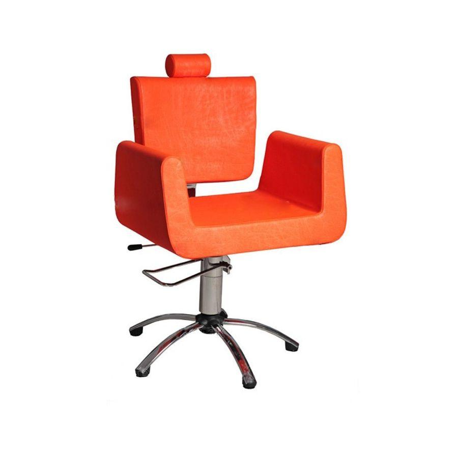 Кресло парикмахерское Имидж Мастер КубУникальное кресло бизнес класса российского производства с неповторимым дизайном, которое лучшим образом подойдет для оформления пространства салонов с экстравагантным стилем.<br>