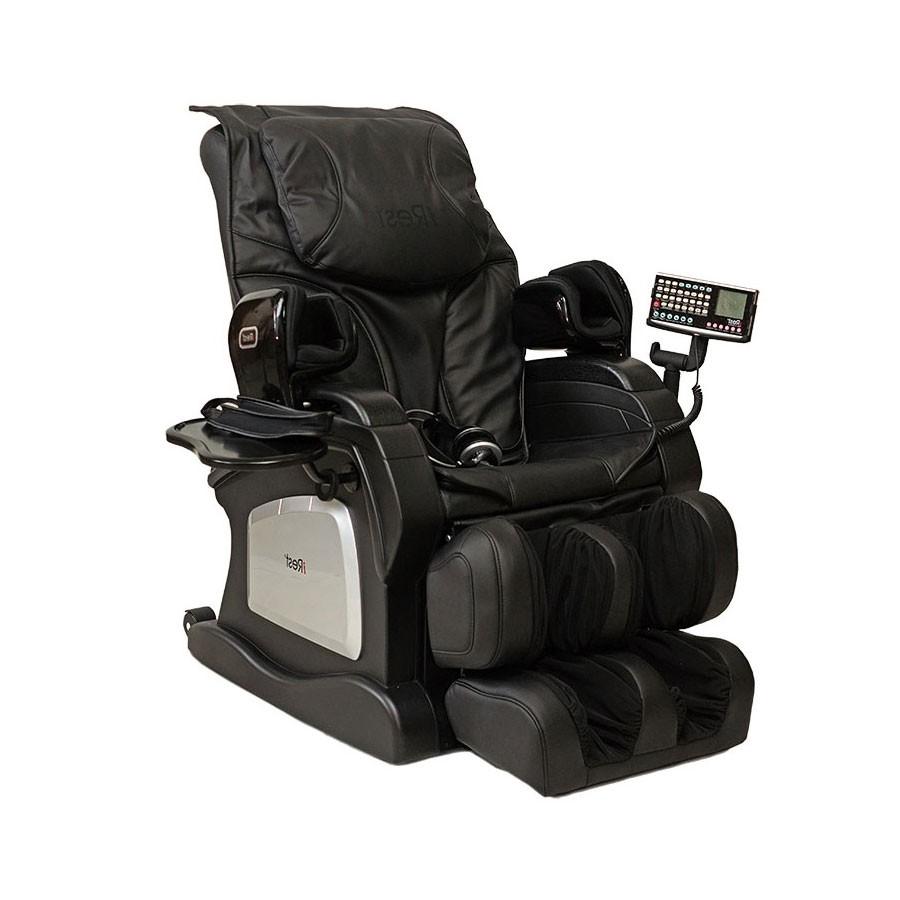 Массажное кресло iRest SL A12Q черный